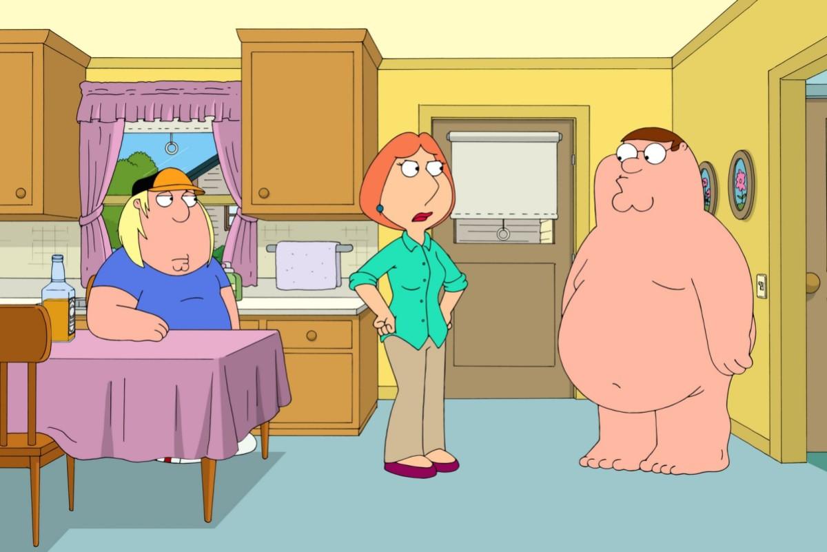 Family Guy dating en flicka med ett dåligt skratt